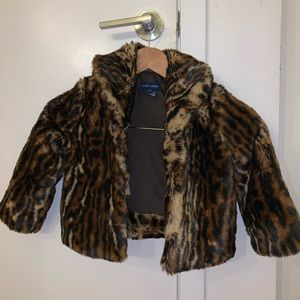 Ralph Lauren faux fur animal print size 3T